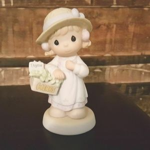 """Precious Moments Figurine """"Take Thyme For Yourself"""
